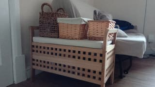 seat and mini baskets