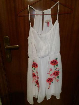 vestido bieska talla S FORRADO