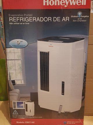 evaporativo portatil. climatizador.