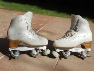Patines patinaje artistico