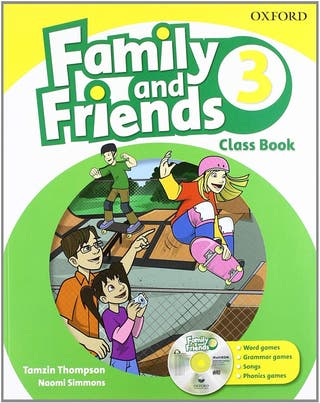 NUEVO Family and Friends 3 Class Book Oxford