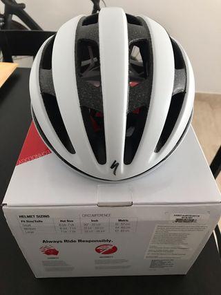 Casco Specialized Airnet Blanco bicicleta
