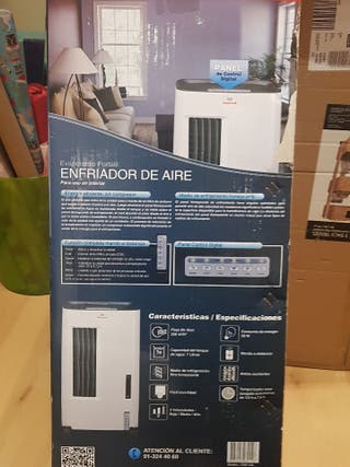 climatizador evaporativo portatil sin estrenar