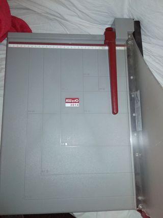 guillotina cizalla papel kw 3914 A3 profesional