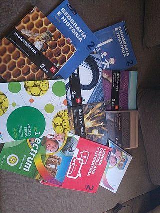 Vendo libros de 2eso del Huerta Salama