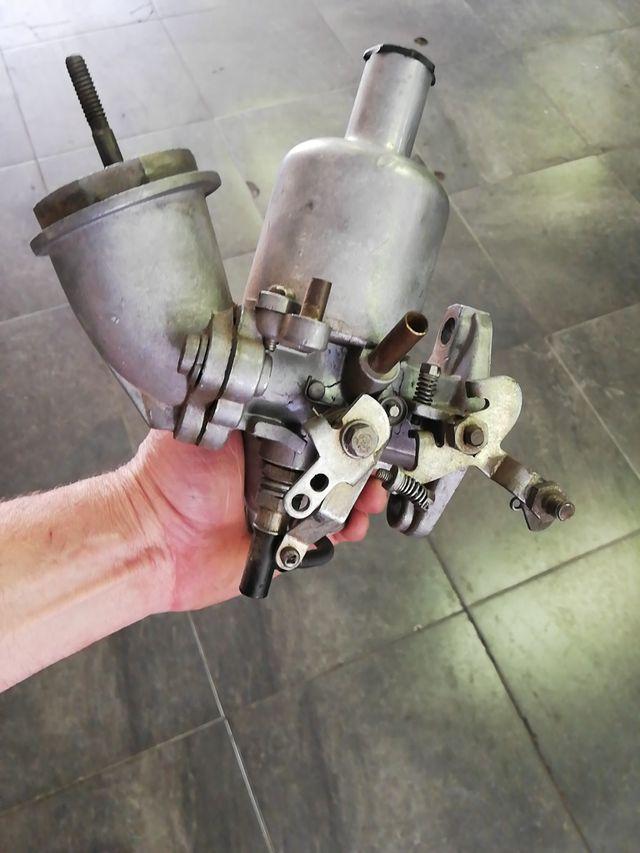 Carburador y arranque de Mini