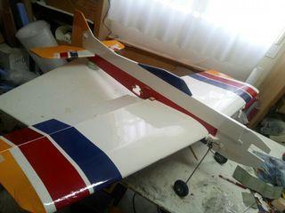 avión aeromodelismo Bossa Nova tabla