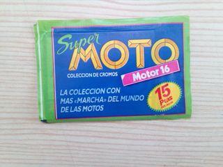 Super Moto - Motor 16 - Sobre Cromo Sin Abrir