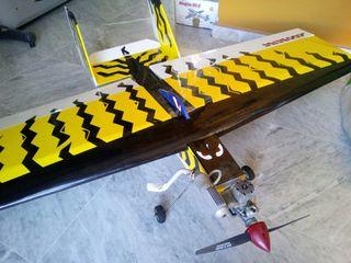 avión aeromodelismo