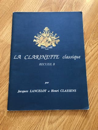 La clarinette classique recueil B