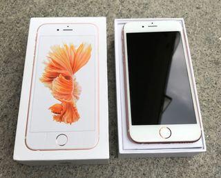 IPHONE 6S ROSA (perfecto, accesorios origi)
