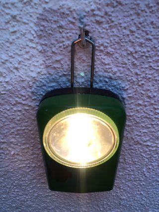 Linterna antigua TUDOR, de petaca.