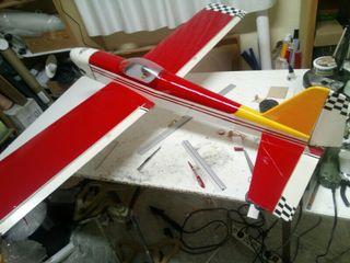 avión aeromodelismo renegade