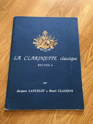 La clarinette classique Recueil A