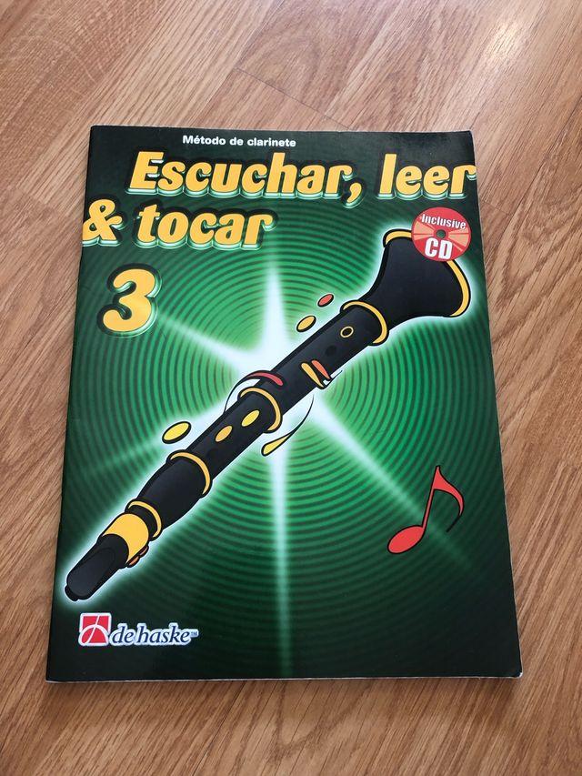 Escuchar, leer y tocar 3 para clarinete