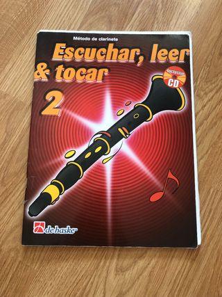 Escuchar, leer y tocar 2 para clarinete