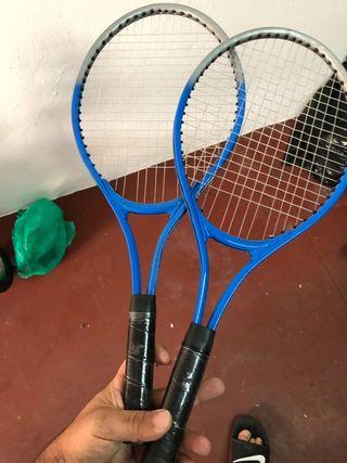 3 raquetas de tenis junior