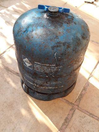 Bombona camping gas vacia