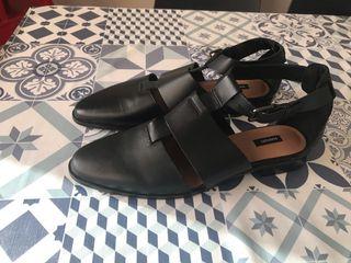 Zapatos de cuero de Mango