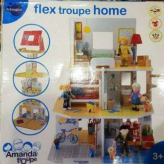 Casa de muñecas de Imaginarium