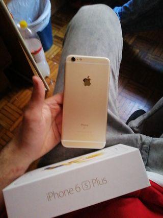 Iphone 6 S plus dorado