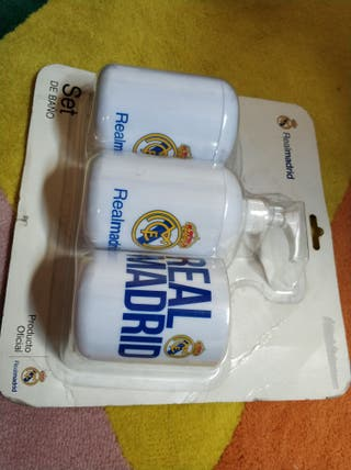 Set baño Real Madrid