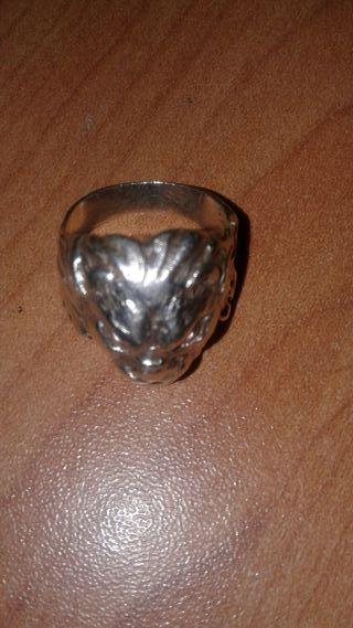 anillo de caballero