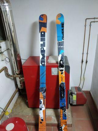 se venden skis de freestyle amplid