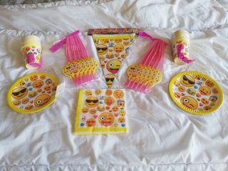 Pack/Lote fiestas infantiles EMOJIS