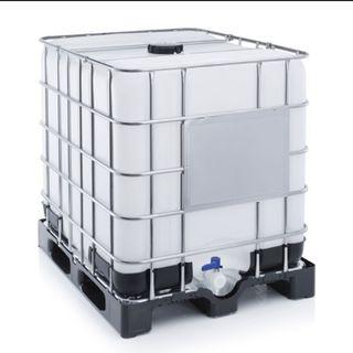SEGUNDA MANO bidones de 1000 litros
