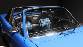 Tapicería asientos Porsche 914 tartan