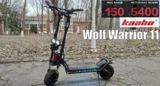 patinete electrico kaabo wolf warrior 2