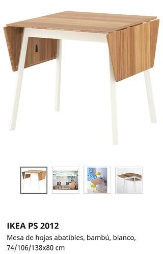 Mesa comedor Ikea de segunda mano en WALLAPOP