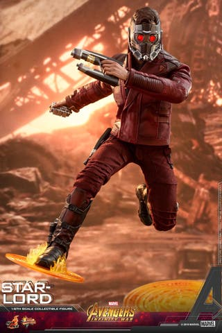 Hot toys star lord avengers infinity war mms539