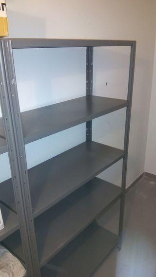 Vendo Estanterias Metalicas Usadas.Estanterias Metalica De Segunda Mano En Wallapop