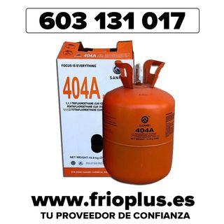 R404A GAS REFRIGERANTE 10,9 KG - NUEVO!