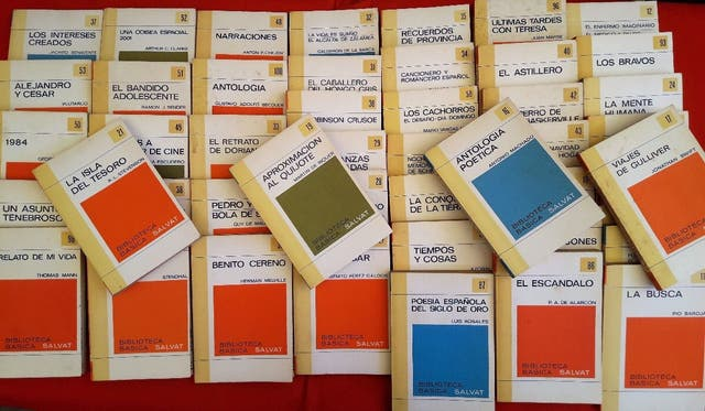 Colección biblioteca básica Salvat