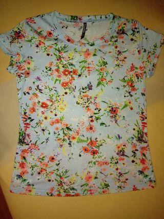 Camiseta elástica talla L nueva