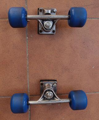 Ejes y ruedas de skate