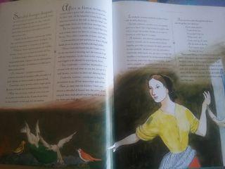 colección de 12 libros de cuentos bilingües
