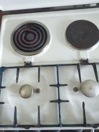 cocina de gas funciona perfectamente
