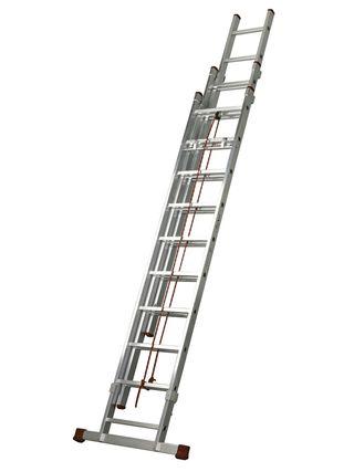 Alquiler escalera tres tramos 15m