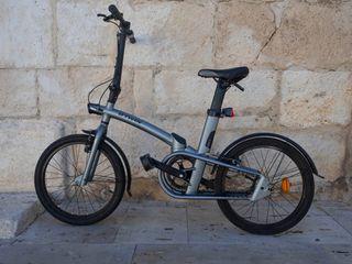 Bicicleta plegable BTWIN Tilt 700 aluminio