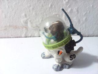 Perro astronauta figura