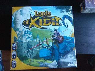juego mesa lords of xidir precintado - nuevo