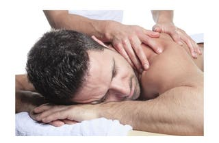 masaje cabina relajante o deportivo