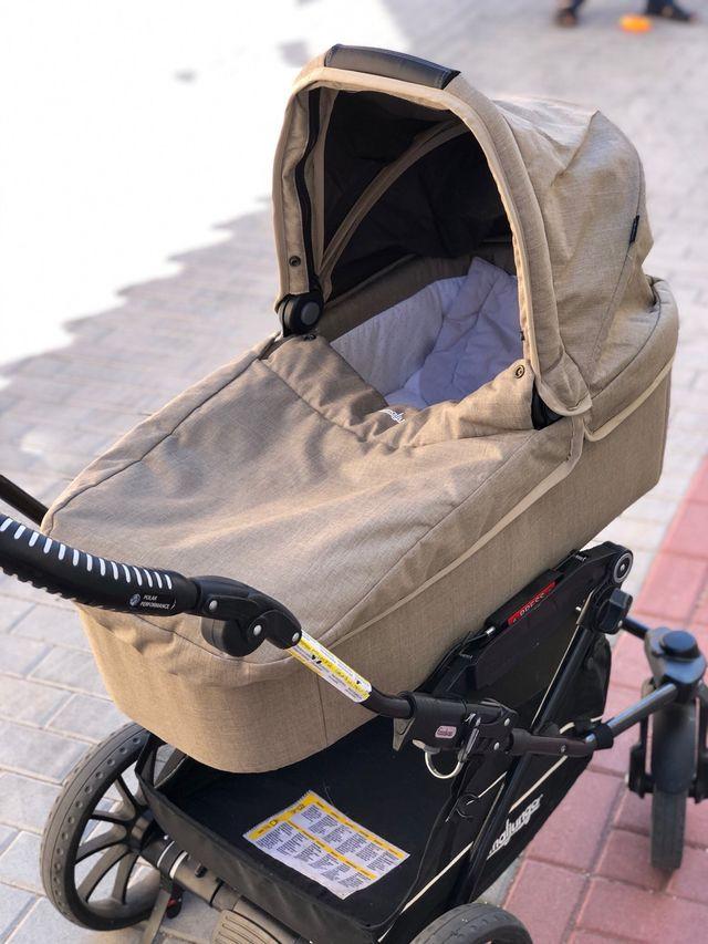 Emmaljunga Súper Viking. Carro y silla de niño