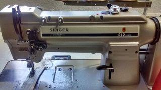 maquina de coser singer doble arrastre 212 U141A