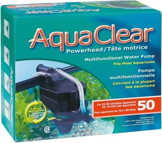 bomba sumergible powerhead aquaclear 50