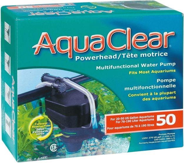 bomba sumergible powerhead aquaclear 50